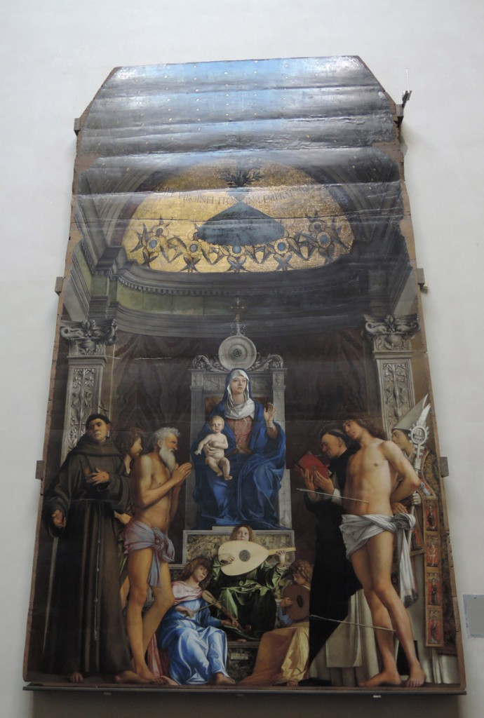 Bellini, Saint Job Altarpiece, Gallerie dell'Accademia