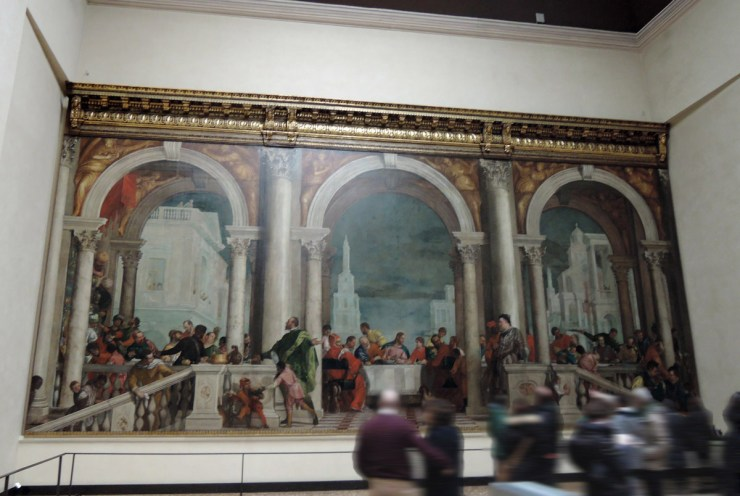 Veronese, Feast in the House of Levi, Gallerie dell'Accademia