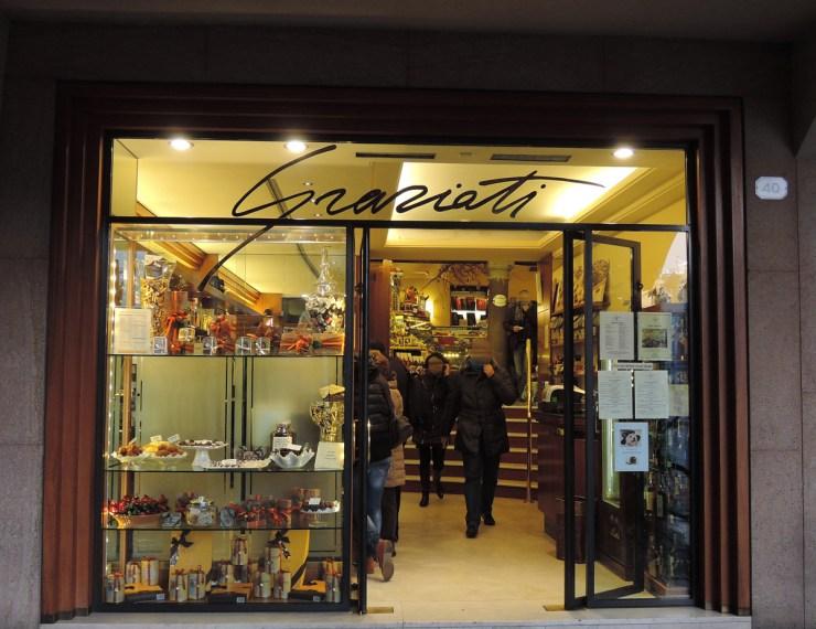 Graziati's Entrance