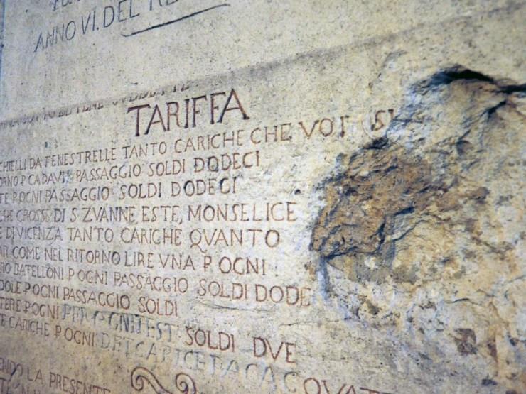Tariff Carved in Stone