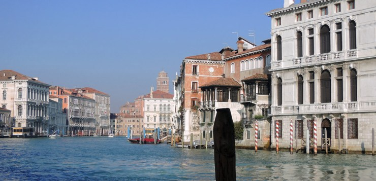 View in front of theVenice Accademia Galleries