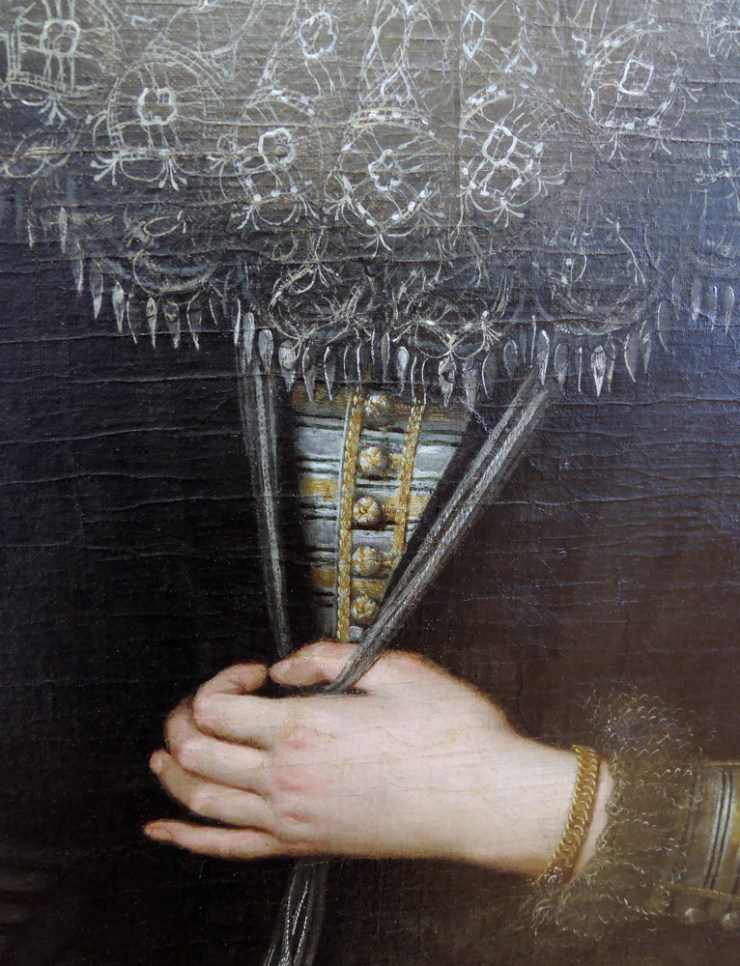 The Lady of Licnidi detail, Rubens