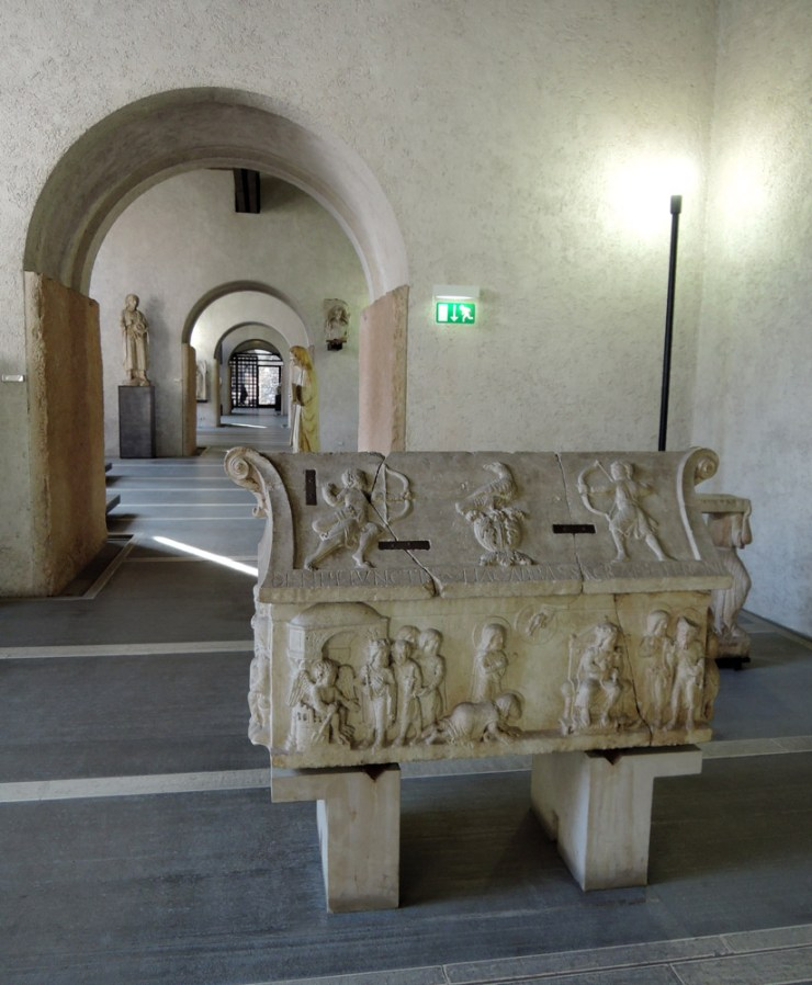 Sarcophagus of Saints Sergius and Bacchus, Castelvecchio Museum Highlights