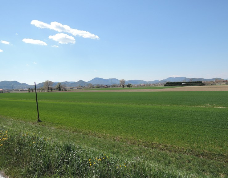 Euganean Hills - Cycle path from Padua to Battaglia