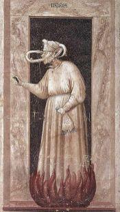 Giotto, Envy, Scrovegni Chapel ©it.wikipedia.org
