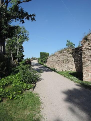 Entrance of the Rose Garden