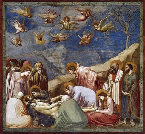Giotto, Lamentation, Scrovegni Chapel ©en.wikipedia.org