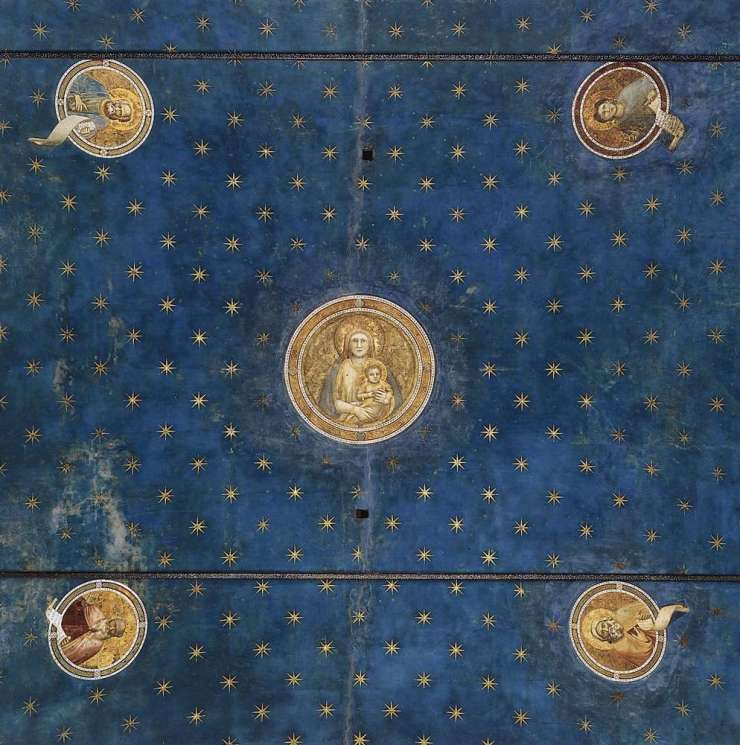 Giotto, Vault, Scrovegni Chapel ©it.wikipedia.org