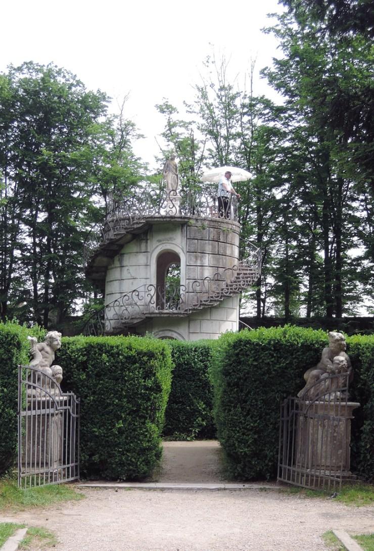Villa Pisani Maze Turret