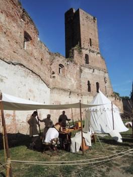 Camp inside the Castle, Palio di Noale