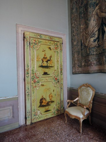 Tapestry room door