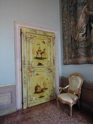 Tapestry room door