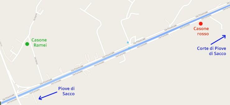Casoni Map