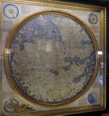 World Map (1450) by Fra Mauro