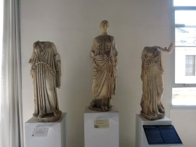 Demeter and two other statue