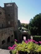 The view form a Monselice Castle room