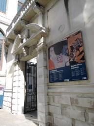 Ca Pesaro Entrance