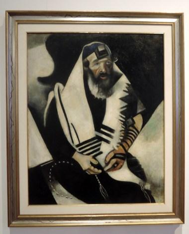 Rabbi by Chagall