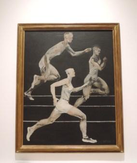 The Race by Alexander Deineka