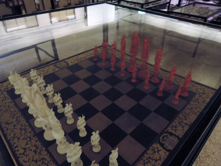 Chessboard, Venice Oriental Art Museum