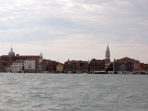 Venice from the boat