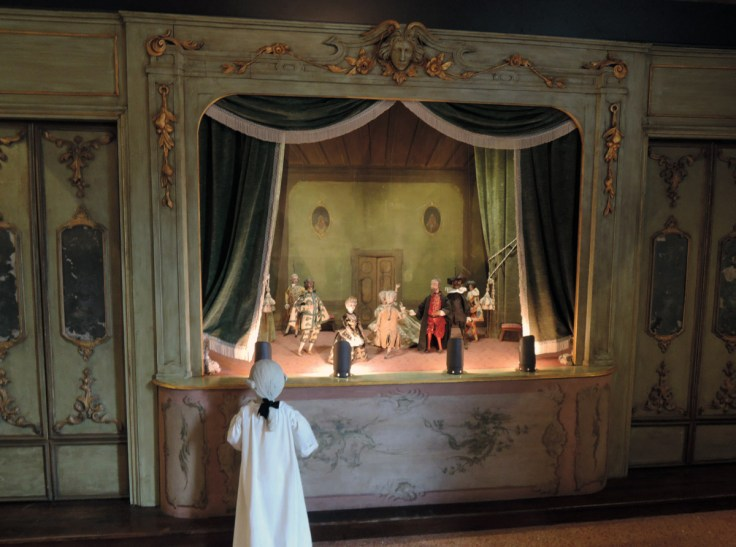 Puppet theatre, Goldoni house