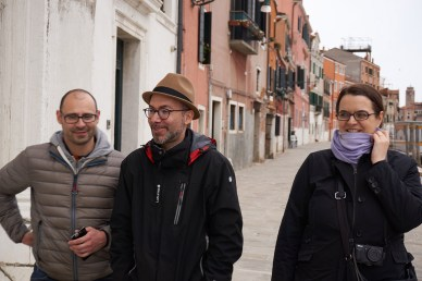 Giulio, Tomaso and me, photo by Ivan Pirlik