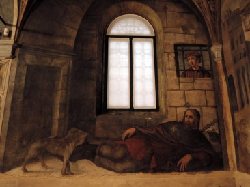 San Rocco dying in prison