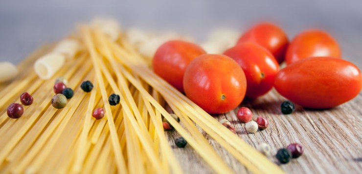 Italian pasta: Spaghetti, photo at https://www.pexels.com