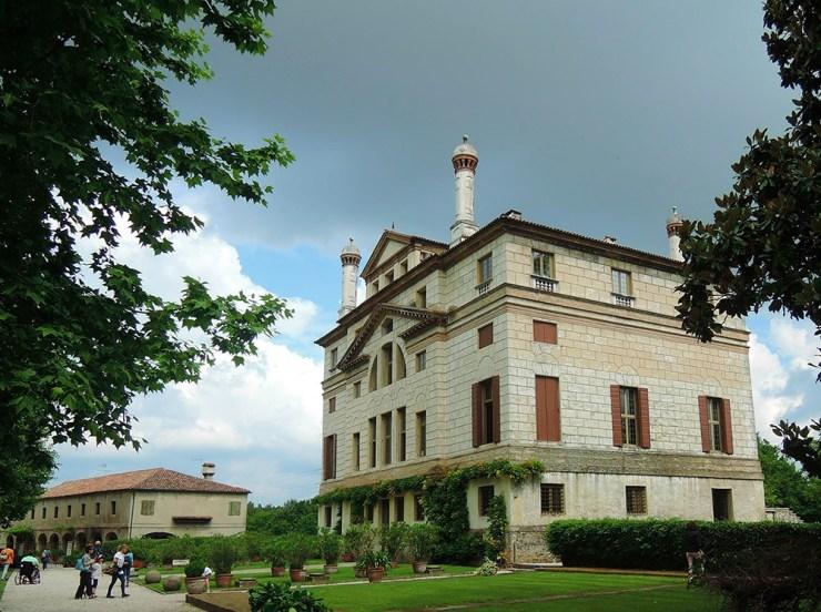 Villa Malcontenta, rear facade