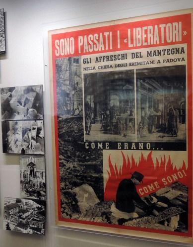 Bombing poster, Pedrocchi Café Museum