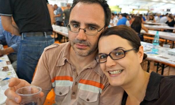 At the Rice Fair in Isola della Scala