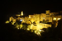 Pitigliano by night