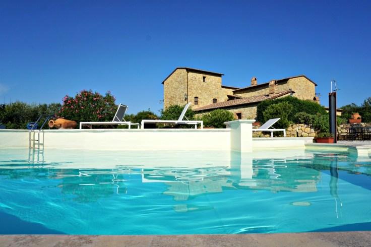 Il Macchione, pool area