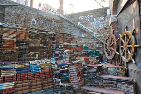 Books staircase