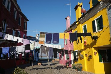 Washing lines, Island of Burano