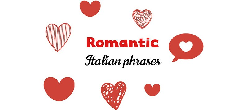 Romantic Italian phrases