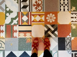 The beautiful floor