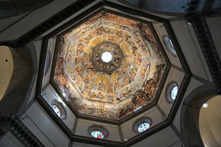 Florence Cathedral Dome Frescoes