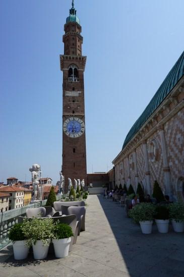 Terrazza della Basilica Palladiana in Vicenza