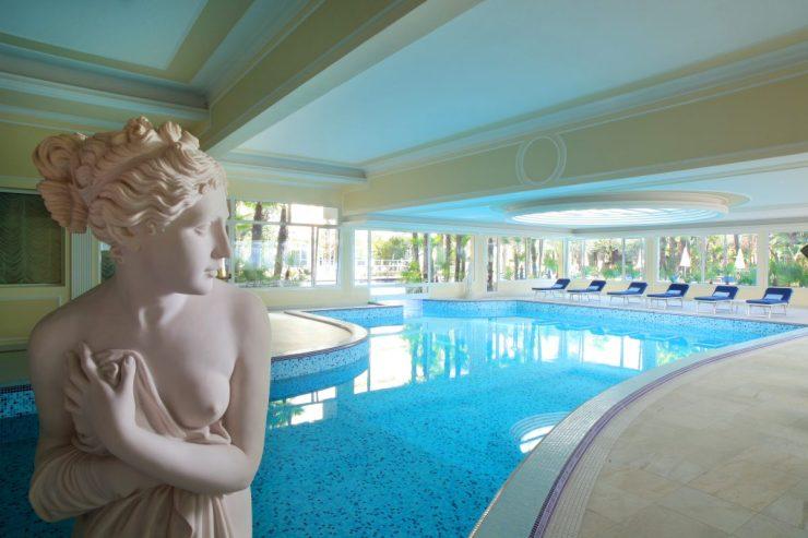 Giada Pool, poto courtesy of Grand Hotel Trieste e Victoria
