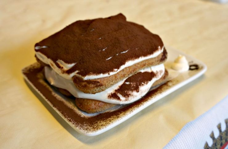 One of the tiramisù
