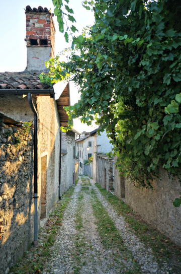 lovely road in Feltre