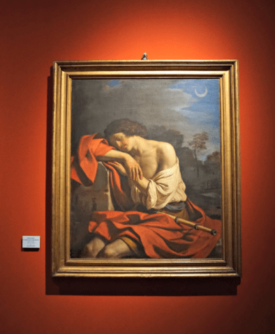 Endimion by Guercino