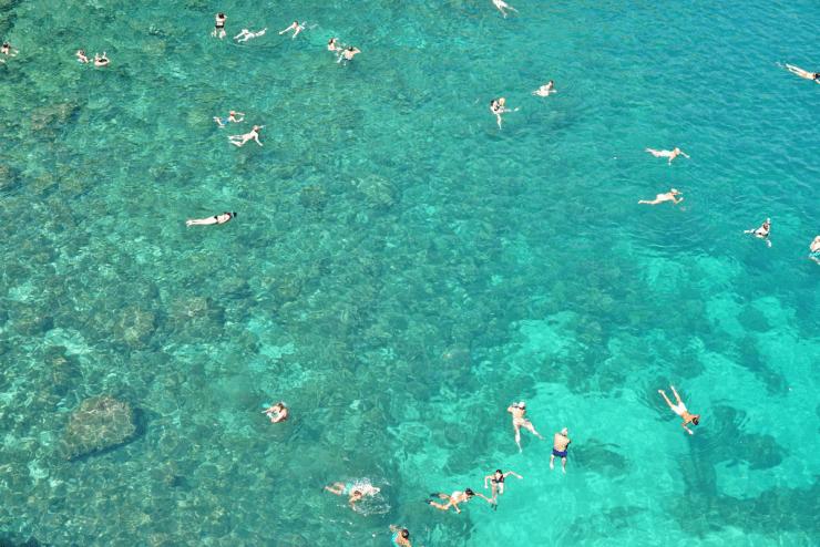 The sea in Polignano a Mare