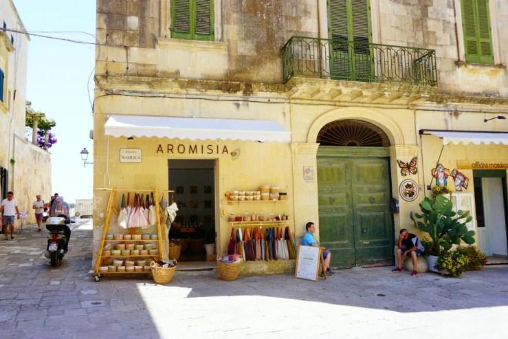 via Basilica, Otranto