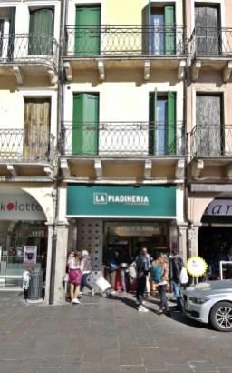 La piadineria Padua