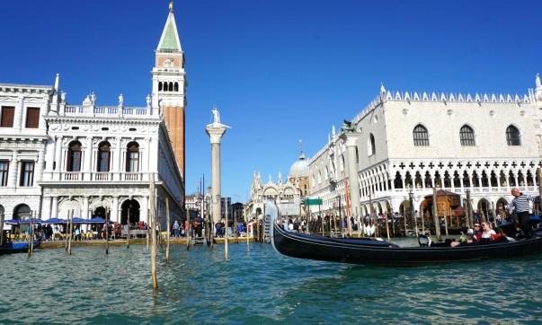 Venice by gondola