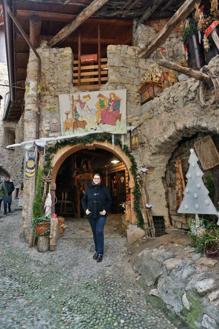 Christmas markets in Trentino: Canale di Tenno