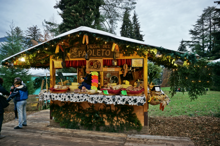 Christmas markets in Trentino: Levico
